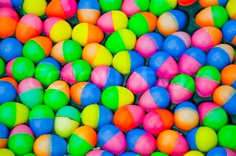 colorful easter eggs the colorful easter eggs plastic stock photo colourbox