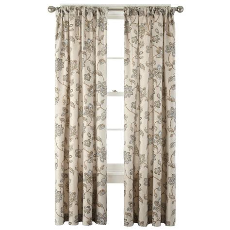 jcpenney curtains rods upc 073101160034 jcpenney home bedford rod pocket back