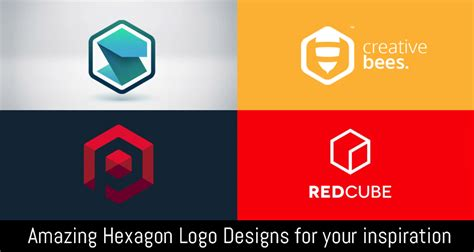design logo inspiration for youtube amazing hexagon logo designs for your inspiration cgfrog