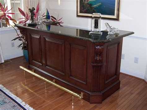 freestanding bar family room other metro by