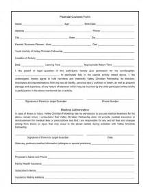 permission to treat form template parental consent form for photos swifter co parental