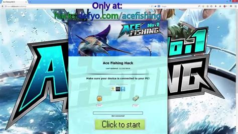 cara mod game ace fishing ace fishing hack how to and proof of ace fishing cheats