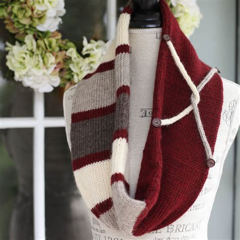 knitting pattern for tubular scarf loom knit infinity scarf pattern tube scarf infinity