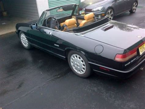 1993 Alfa Romeo Spider by Sell Used 1993 Alfa Romeo Spider Veloce Convertible 2 0l