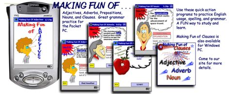 New Students Pocket Grammar interactive of grammar for pocket pc