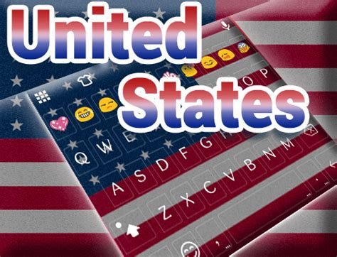 go keyboard themes manchester united usa independence day theme emoji keyboard android apps