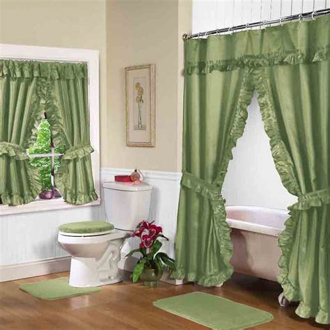 green bathroom window curtains gorgeous and stunning curtains for bathroom decoration