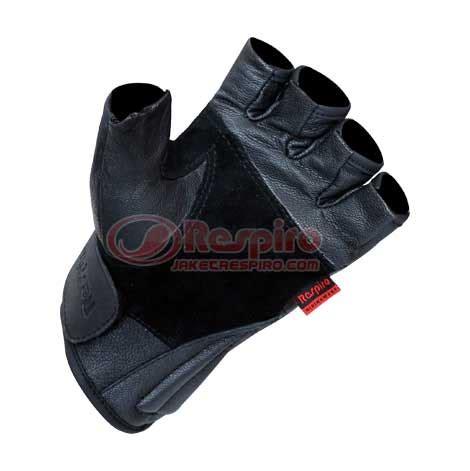 Sarung Tangan Jari Black Eagle Glove Sepeda Motor Pria T0210 1 sarung tangan motor respiro hdx sp grs glove kulit