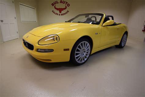 Maserati Dealer Ny by 2003 Maserati Spyder Cambiocorsa Stock 17202 For Sale