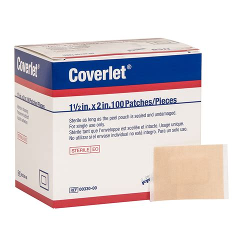 Coverlet Bandages coverlet adhesive bandages light woven cloth patch 100 per box other adhesive bandages normed
