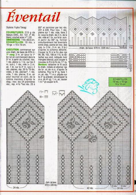 patrones cortinas ganchillo cortina tejida al crochet con diagrama y patrones