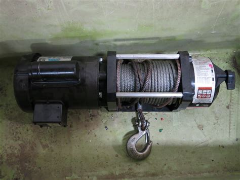 dayton electric winch wiring diagram