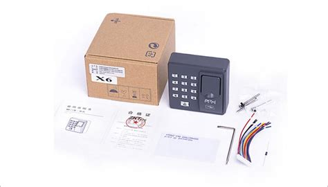 digital electric rfid reader finger scanner code system