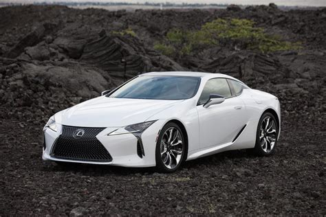 white lexus lexus showcases stunning details of lc coupe in new photos