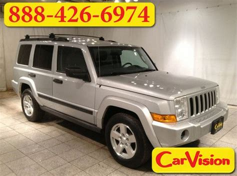 jeep commander with 3rd row seating find used 2006 jeep commander 4dr 4wd alloys 3rd row seat
