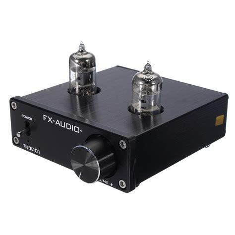 Fx Audio Vacuum Speaker Pre Lifier Hifi Audio fx audio 01 mini 6j1 valve vacuum pre lifier stereo audio hifi ebay
