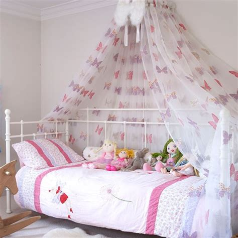 Childrens Bed Canopy create a fairytale room country rooms housetohome
