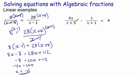 solving single how to get the ring not the run around books algebraic fractions part 1 gcse maths revision higher
