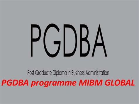Top International Mba Programs by Mibm Global Top Mba Programs In India