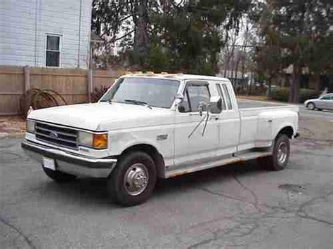 1990 ford f350 diesel buy used 1990 ford f350 club cab diesel dually xlt