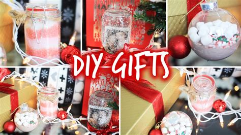 easy diy christmas gifts for friends family boyfriends