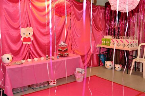 kitty themed party diy inspired