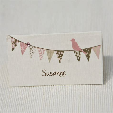 place cards personalised place cards name cards range by beautiful