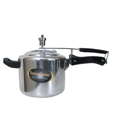 induction cooker no power surya power pressure cooker induction bottom 3 ltr buy at best price in india snapdeal