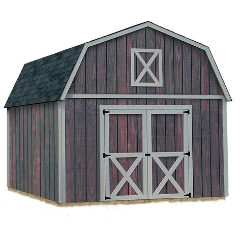 barns denver  ft   ft wood storage shed kit