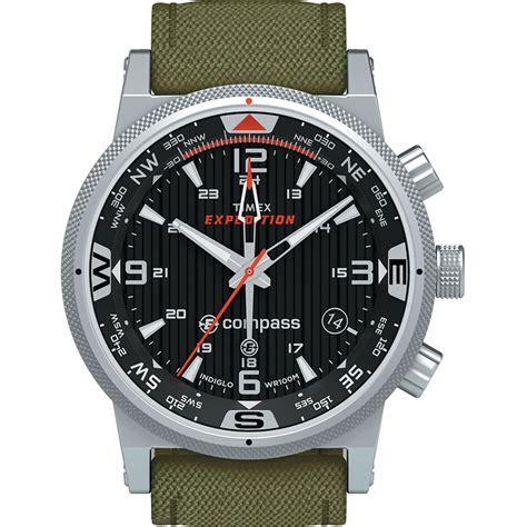 Timex Quartz timex t49819 intelligent quartz e compass green