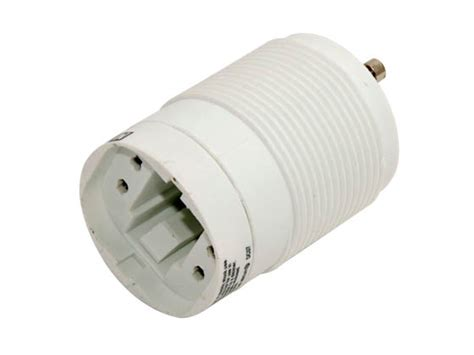 self ballasted l adapter maxlite self ballasted gu24 adapter for 13 watt plug in