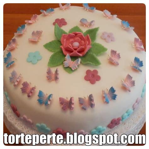 torta fiori e farfalle torte per te torta decorata farfalle e fiori