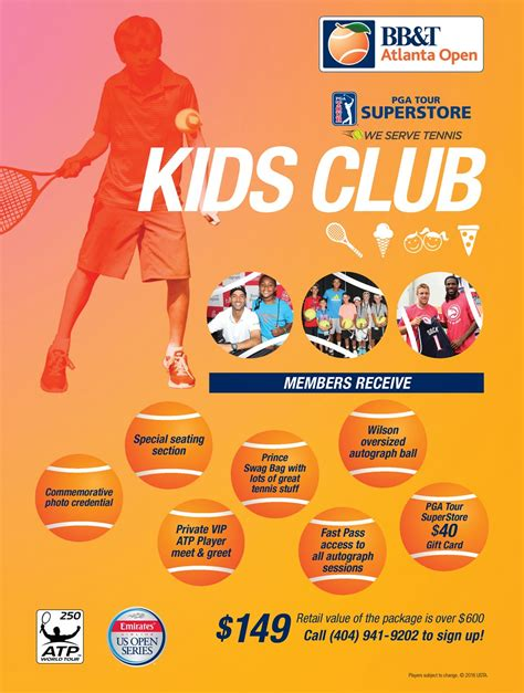 Pga Superstore Gift Card - kids club bb t atlanta open