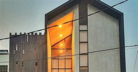 inspirasi rumah minimalis kece  konsep industrial