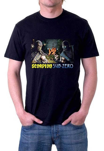 Tshirt Kaos Baju Nirvana 2 jual baju kaos kaos mortal kombat scorpion vs sub zero