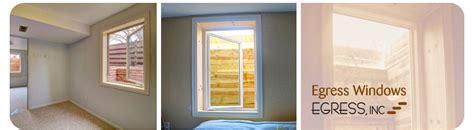 basement window egress code egress inc egress windows