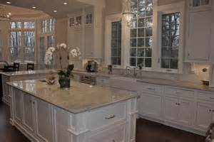 Bathroom Countertops With Sinks Built In Superb Super White Granite Look New York Traditional