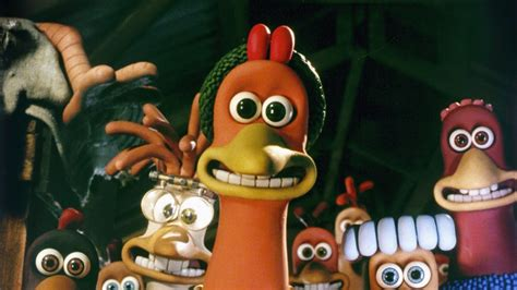 chicken run movie film chicken run into film