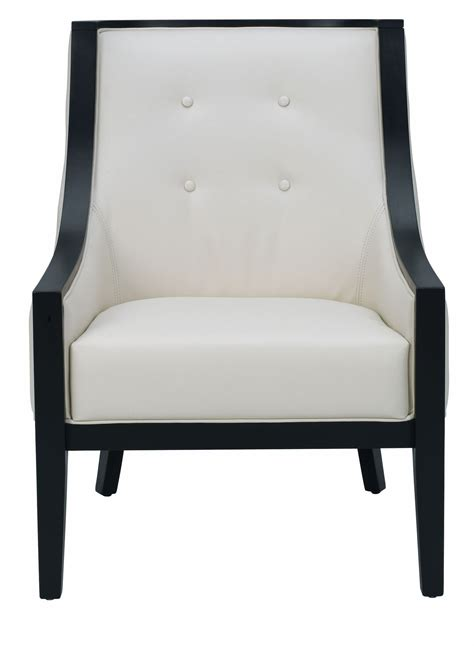 cream leather armchairs cyrano cream leather arm chair from sunpan 27233 coleman furniture