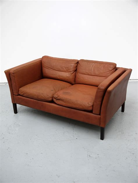 Sofa Columbia mogen hansen two seat leather sofa two columbia