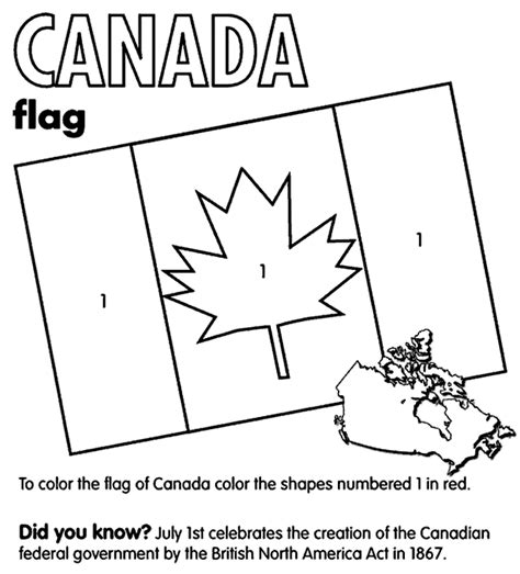 flag coloring pages crayola canada flag crayola co uk
