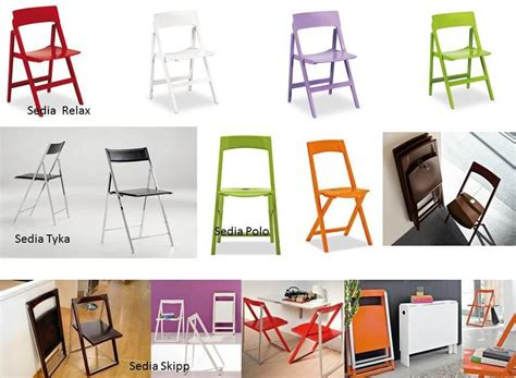 sedie pieghevoli colorate kartell archives non mobili