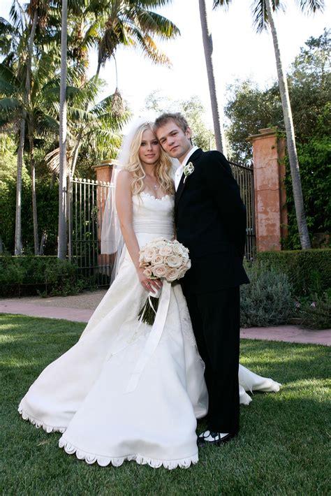 Avril Lavigne On A Stylish Wedding by Avril Lavigne Deryck Whibley Wedding Inspiration