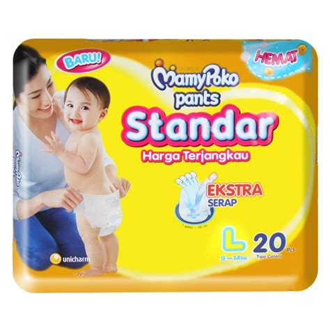 Mamy Poko Soft L 28 diapers baby milk