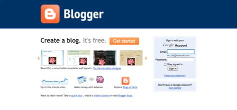 Blogger Sign In   blogger web 2 0 tools new possibilities for teaching
