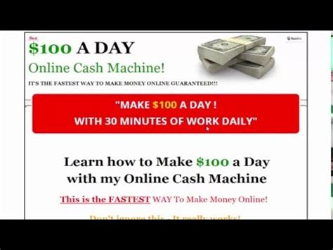 How To Make Money Online 1000 Dollars A Day Easy - vote no on how to make money online from 1000 dollars per d