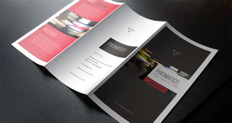 corporate tri fold brochure template beautiful free psd brochure design templates 2014