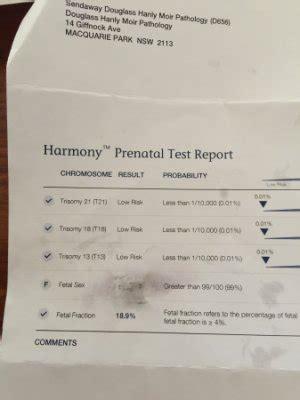 armony test did you harmony test through sonic genetics