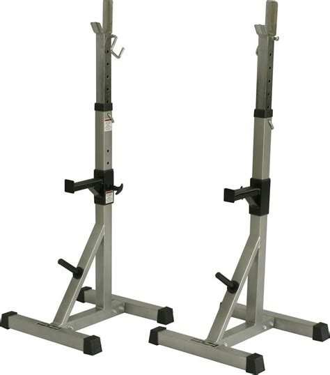 Rack Squat by Valor Deluxe Squat Stands With Weight Pegs