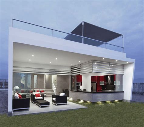 minimalist house design with open living room concept